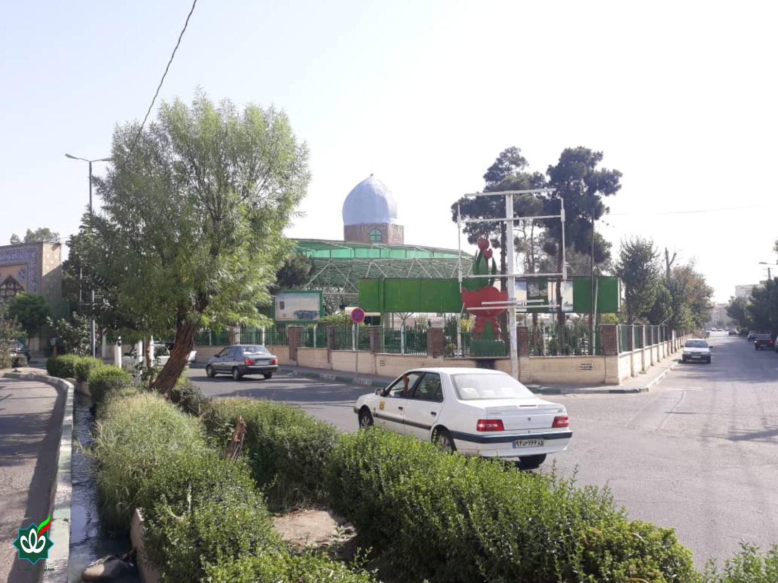 گلزار شهدای امام زاده عباس