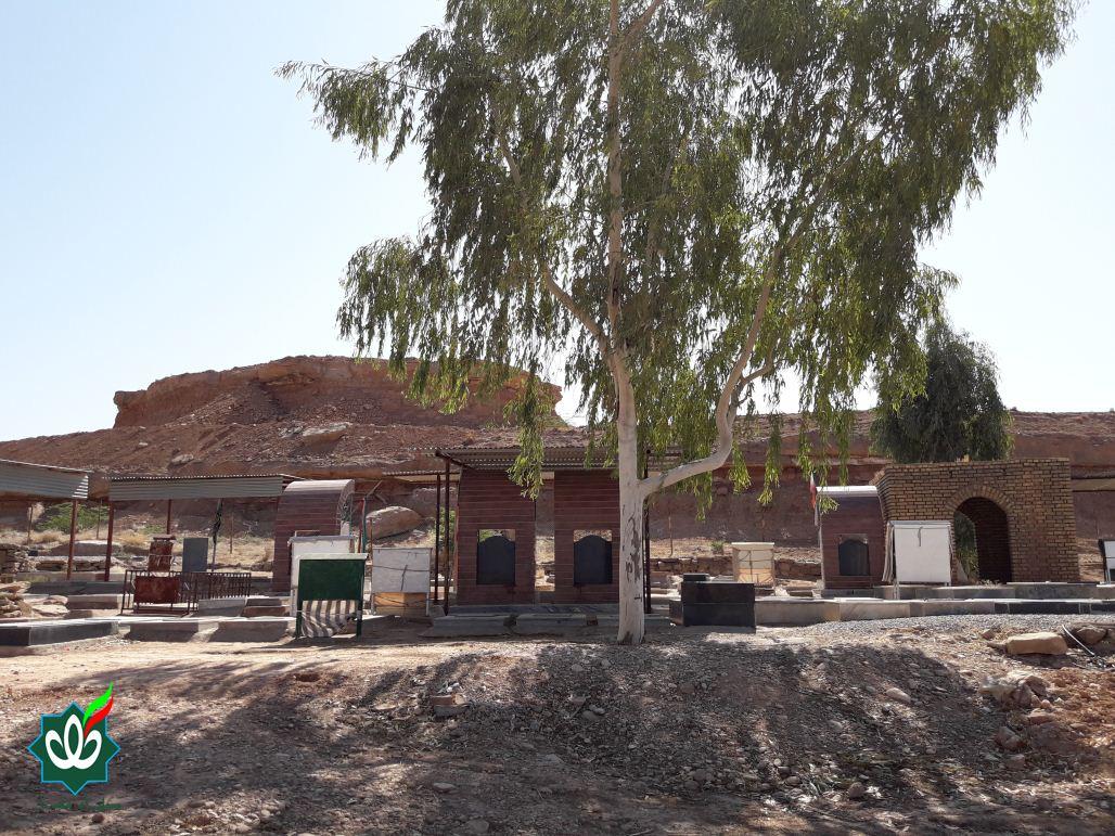 گلزار شهدای روستای بازارگه (بخش شهیون)