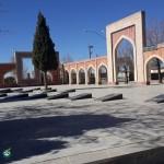 گلزار شهدای شهر بافت - استان کرمان