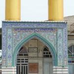 گلزار شهدای مسجد جامع پایین چاف