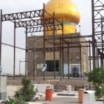 قاب عشق - گلزار شهدای شهر مشکات (کاشان)