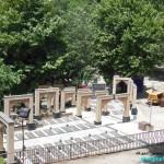 فضای عمومی گلزار شهدای رشت - امامزاده هاشم