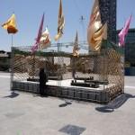 تصاویر حرم شهدای گلنام میدان امام حسین علیه السلام
