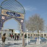قاب عشق - گلزار شهدای شهرستان گنبد کاووس
