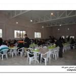 زائران قتلگاه فکه-سالن غذاخوری دوکوهه- محرم 1394