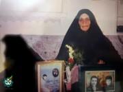مادر بزرگوار شهیدان علیرضا و بهداد جعفری نژاد