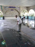 گلزار شهدای شهر ساوه - آستان مقدس امامزاده سید علی اصغر علیه السلام