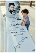 شهید مدافع حرم رضا دامرودی - گلزار شهدای سبزوار